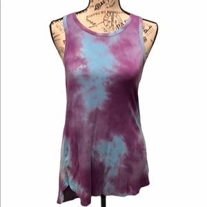 Tie-Dyed Workout Tank